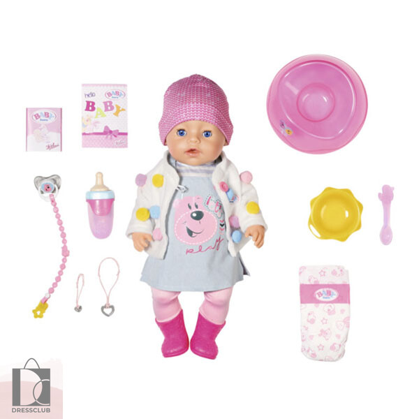 BABY born Кукла интерактивная стильная весна 43 см