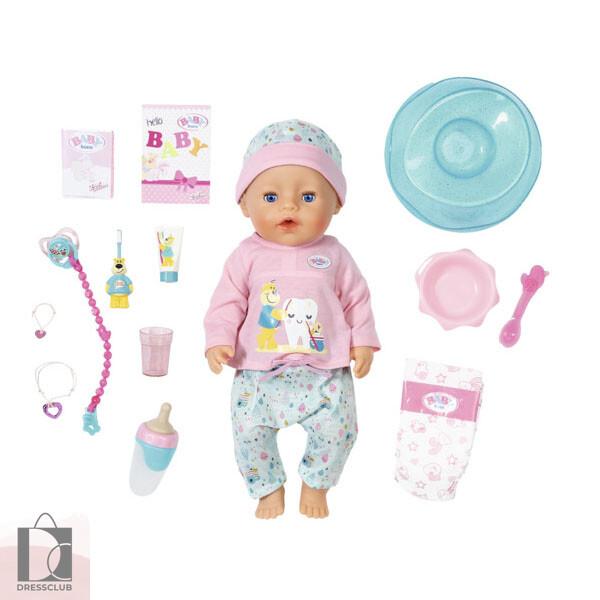 BABY born Кукла чистим зубки