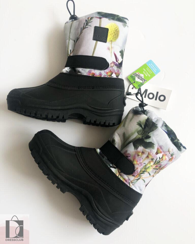 MOLO Сапоги Driven Frozen Flowers 37 размер (24 см)