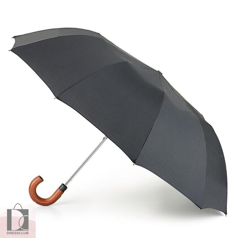Fulton Зонт мужской G512-01 Black (Черный) полуавтомат