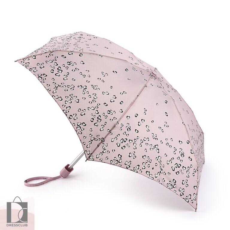 Fulton L501-4040 Petalhearts (Сердца на розовом) Зонт женский механика