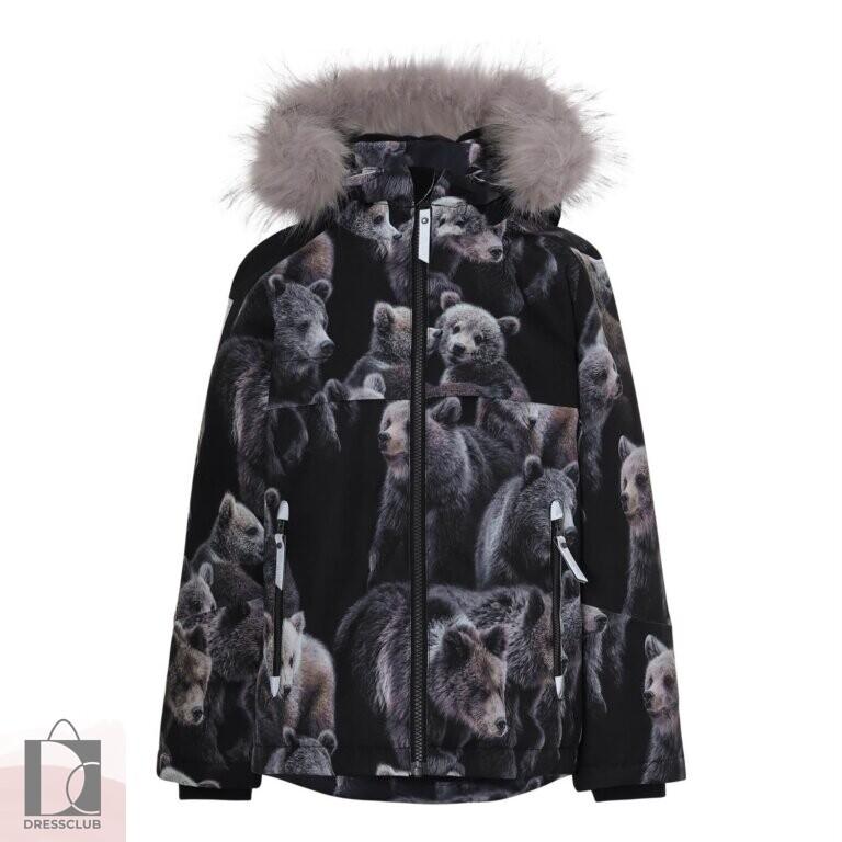 Molo Castor Fur Teddy куртка