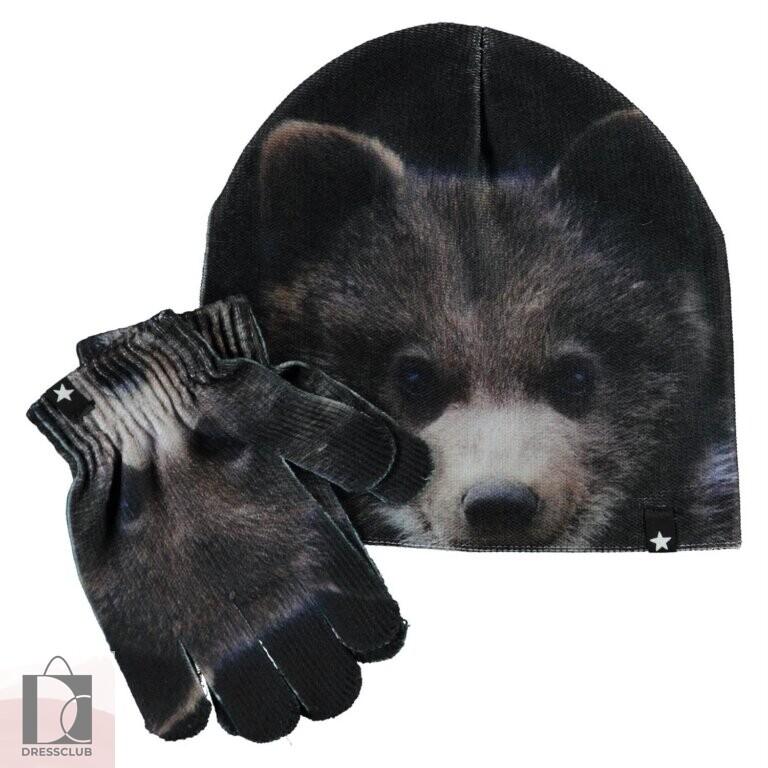 Molo Kaya Teddy Комплект шапка/перчатки