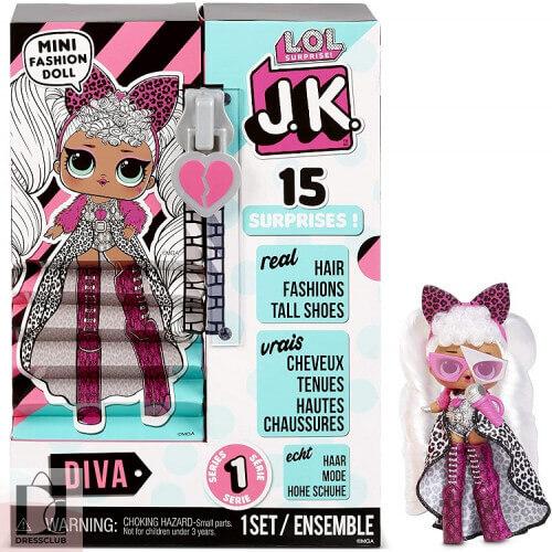 LOL Surprise J.K. - Mini Fashion dolls DIVA кукла