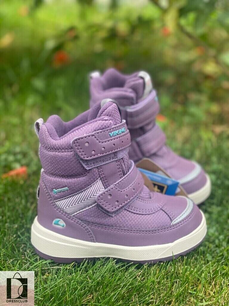 Ботинки Viking Play II R GTX 1675 Purple/Light Lilac