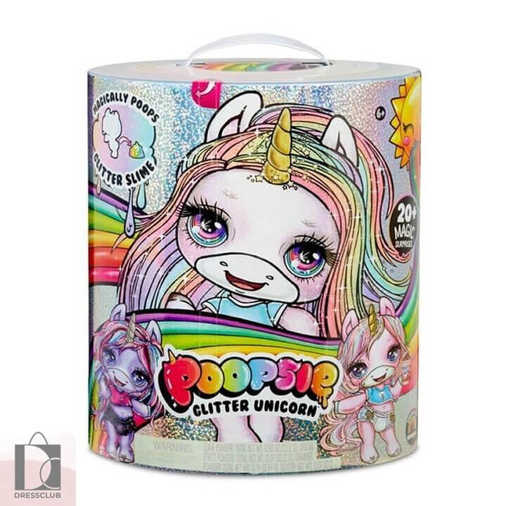 Игрушка куклы Poopsie Glitter Unicorn