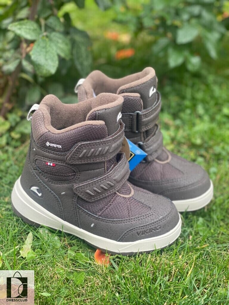 Ботинки Viking Toasty II GTX1833 Dark Brown/Granite