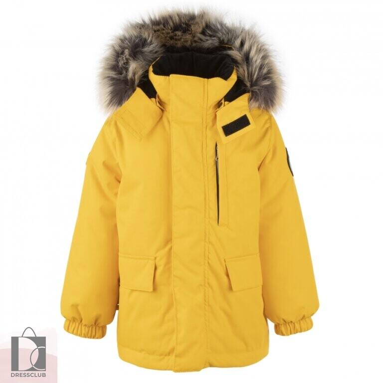 Kerry SNOW 00109 куртка-парка для мальчиков (желтый)