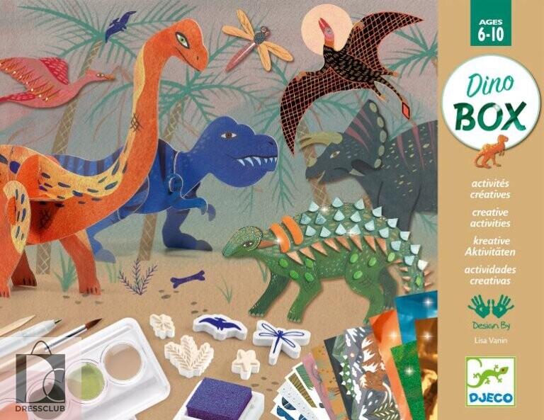 Набор для творчества Djeco Dino Box