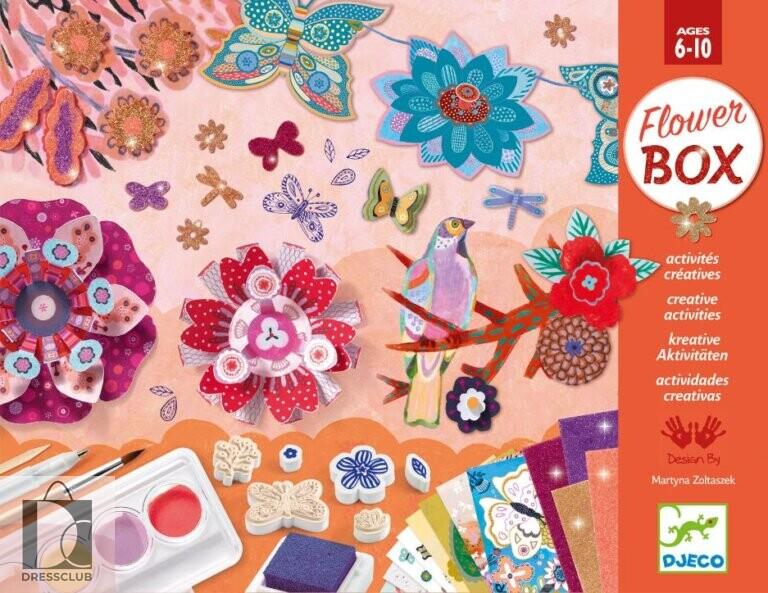 Набор для творчества Djeco Flower Box