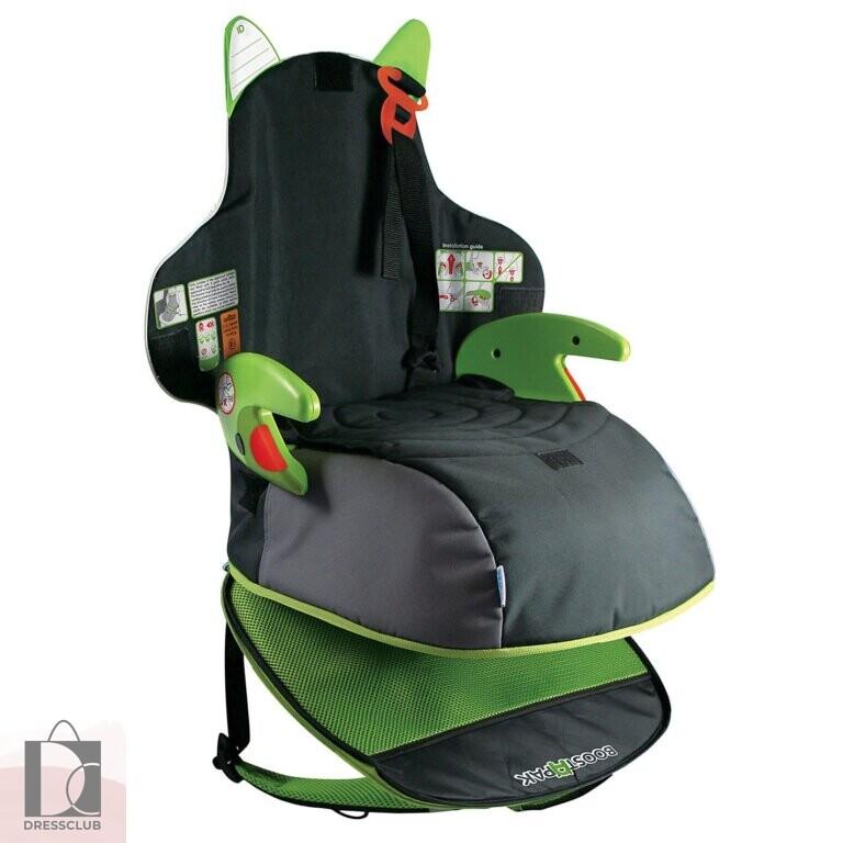 Автокресло-рюкзак Trunki Boostapak, зеленое
