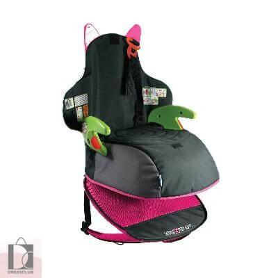 Автокресло-рюкзак Trunki Boostapak, розовое