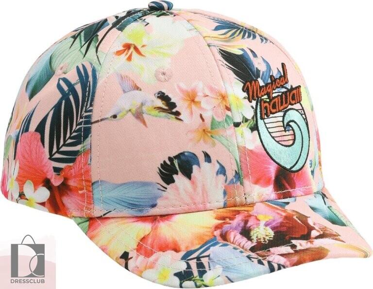 Molo Sebastian Hawaiian Flowers бейсболка