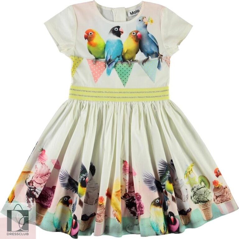 Molo Candy Ice Birdie платье