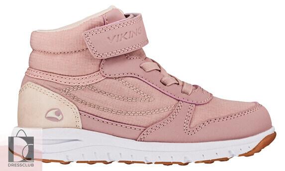 Viking Hovet Mid WP Light Pink ботинки
