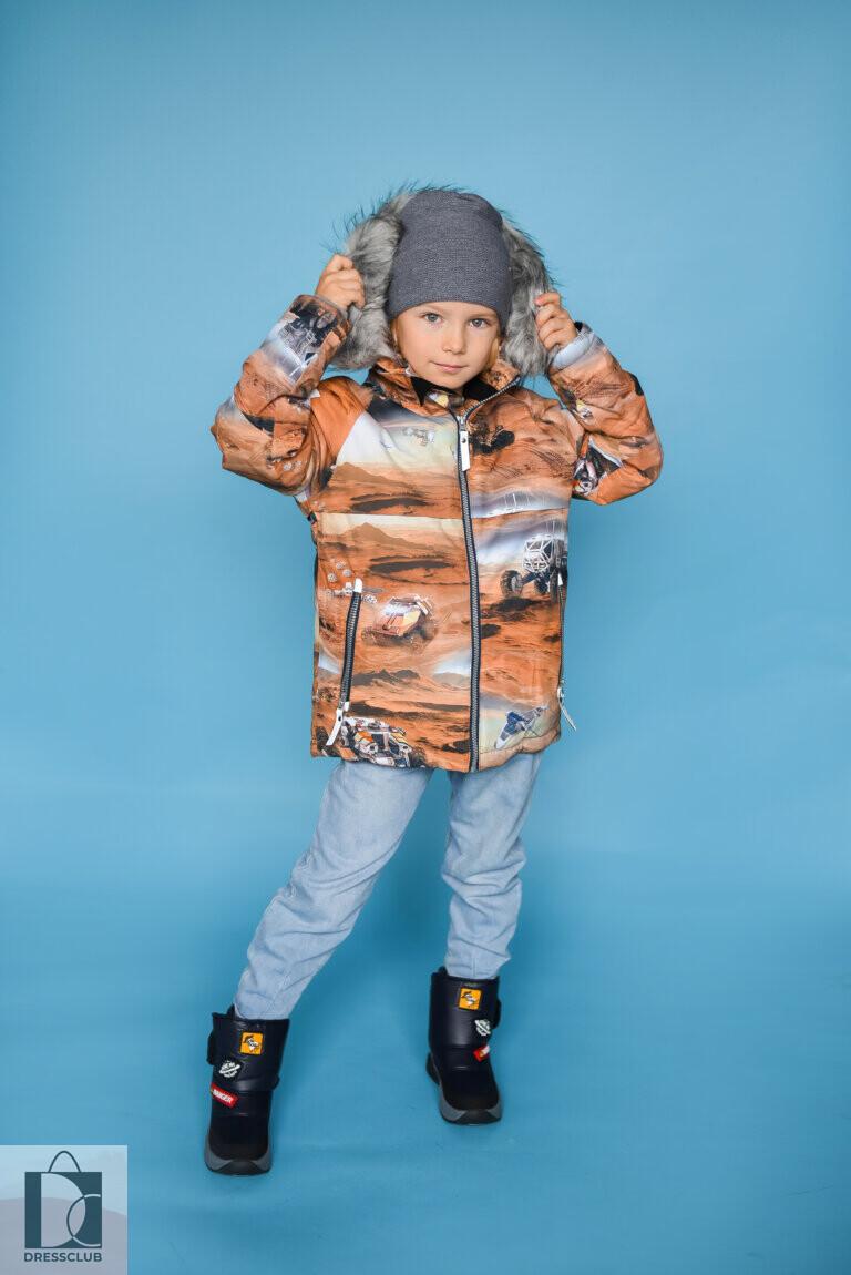Molo Castor Fur Mars куртка