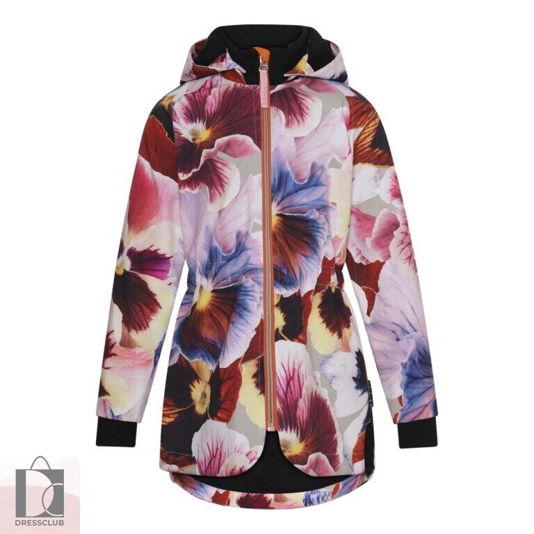 Molo Hillary Giant Floral куртка-софтшелл