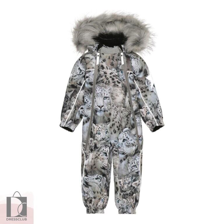Molo Pyxis Fur Snowy Leopards комбинезон