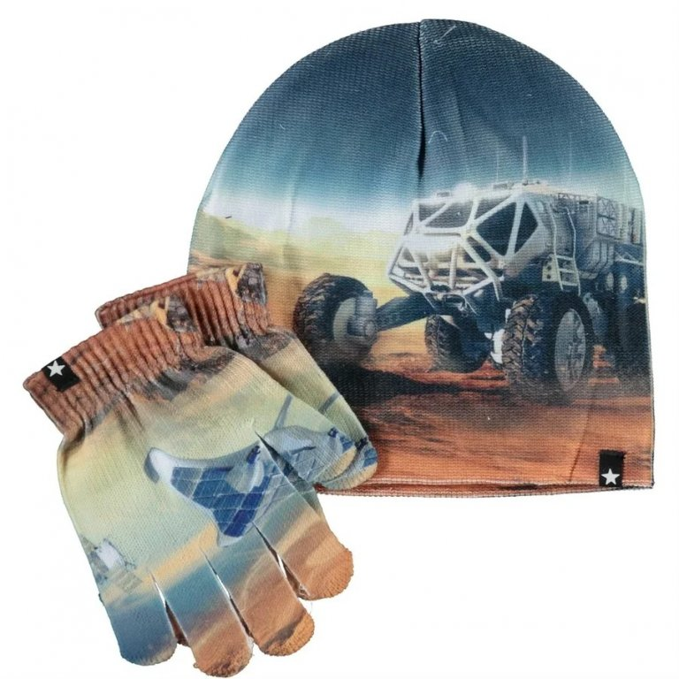 Molo Kaya Mars Zoom шапка с перчатками