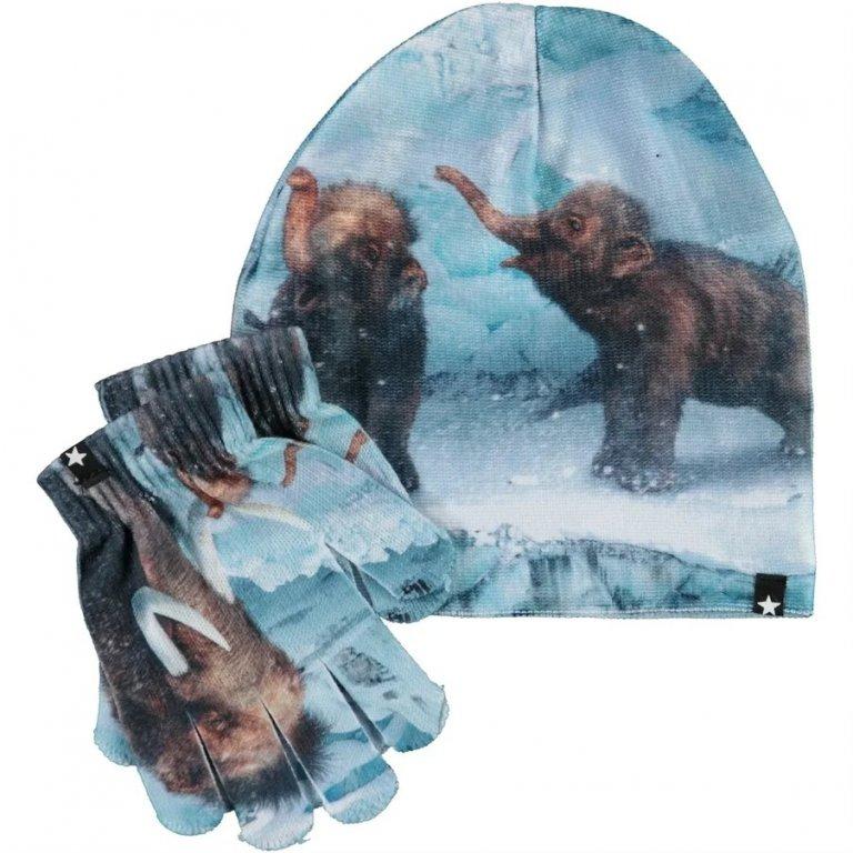 Molo Kaya Mammoth Baby шапка с перчатками