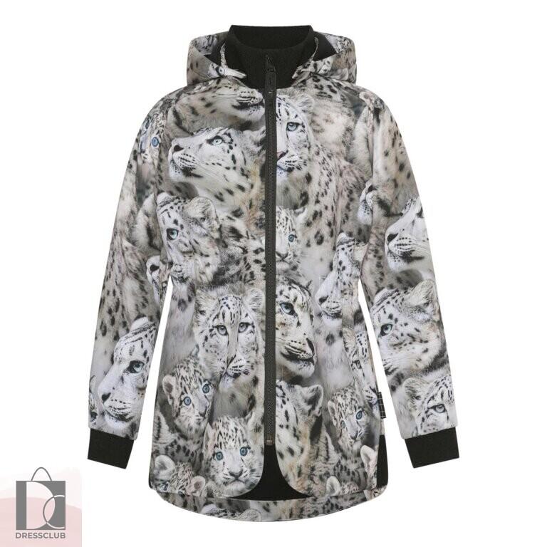 Molo Hillary Snowy Leopards куртка-софтшелл