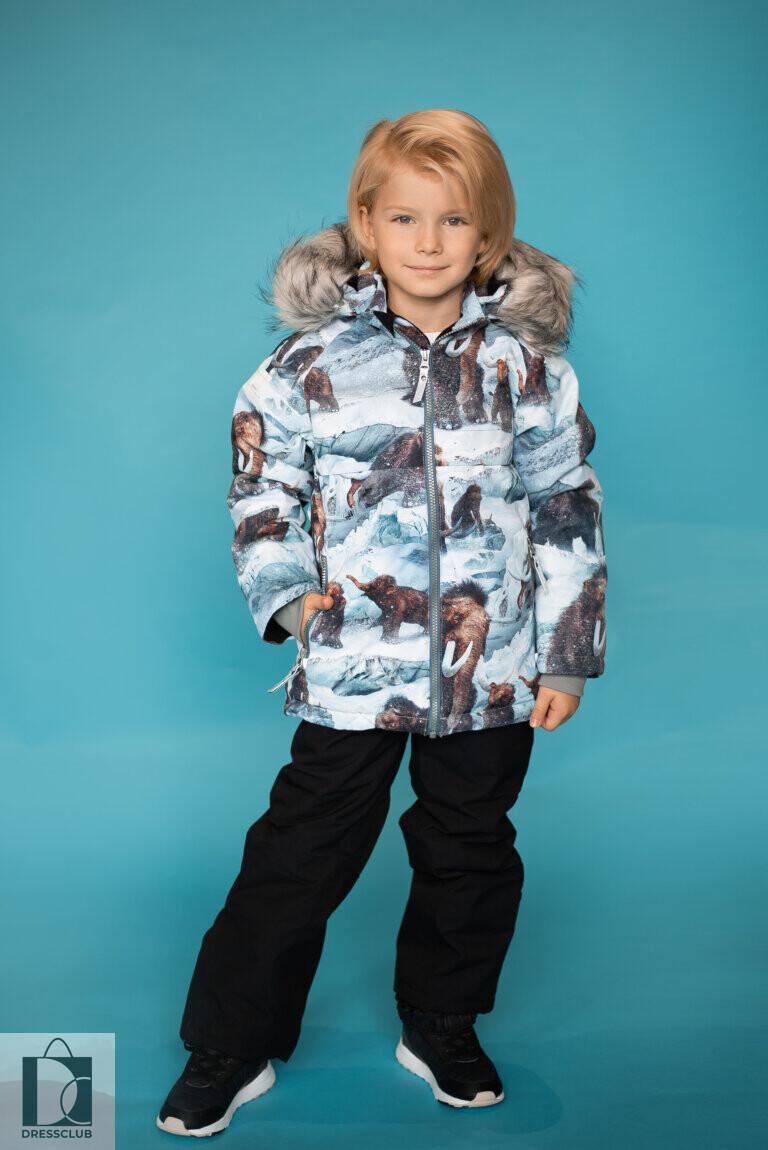 Molo Castor fur Mammoth куртка