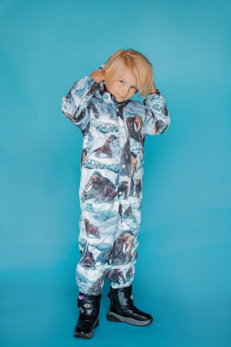 Molo Polaris Fur Mammoth комбинезон