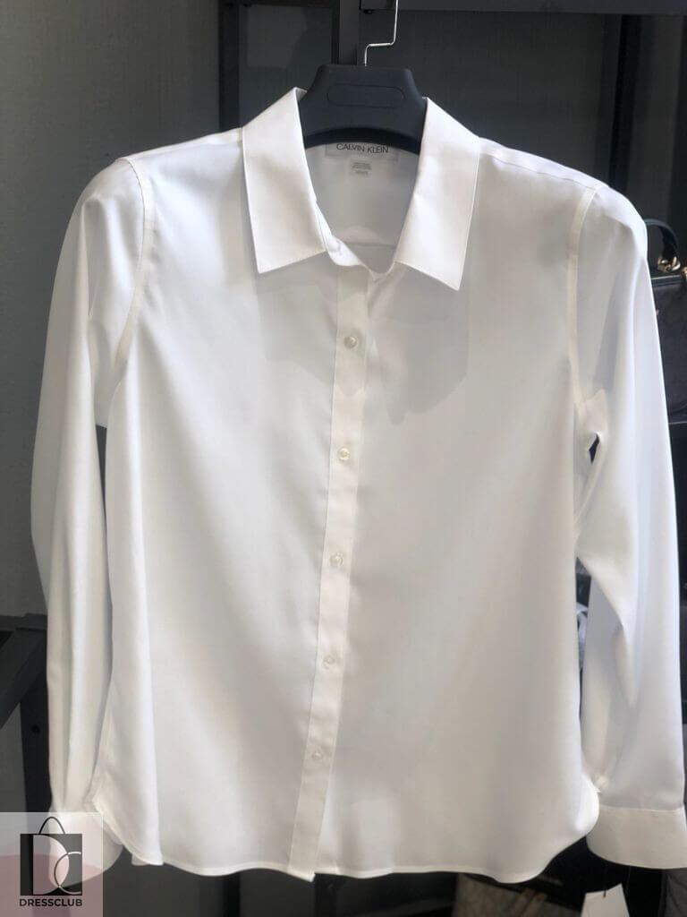 Calvin Klein рубашка приталенная