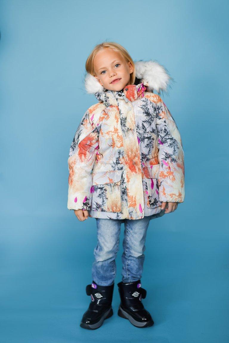 Molo Cathy Fur Eternal Flowers куртка