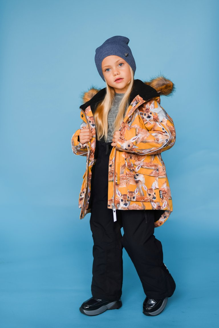 Molo Cathy Fur Fawns куртка