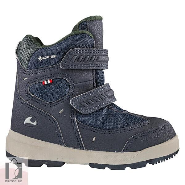 Viking Boots Toasty II GTX Navi/Cement (черно-синий) ботинки