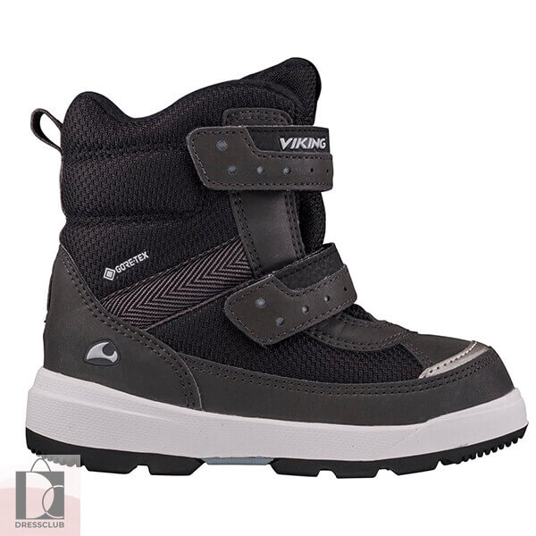 Viking Reflective Winter Boot  Play II R GTX Reflective/Black (черно-серый) ботинки