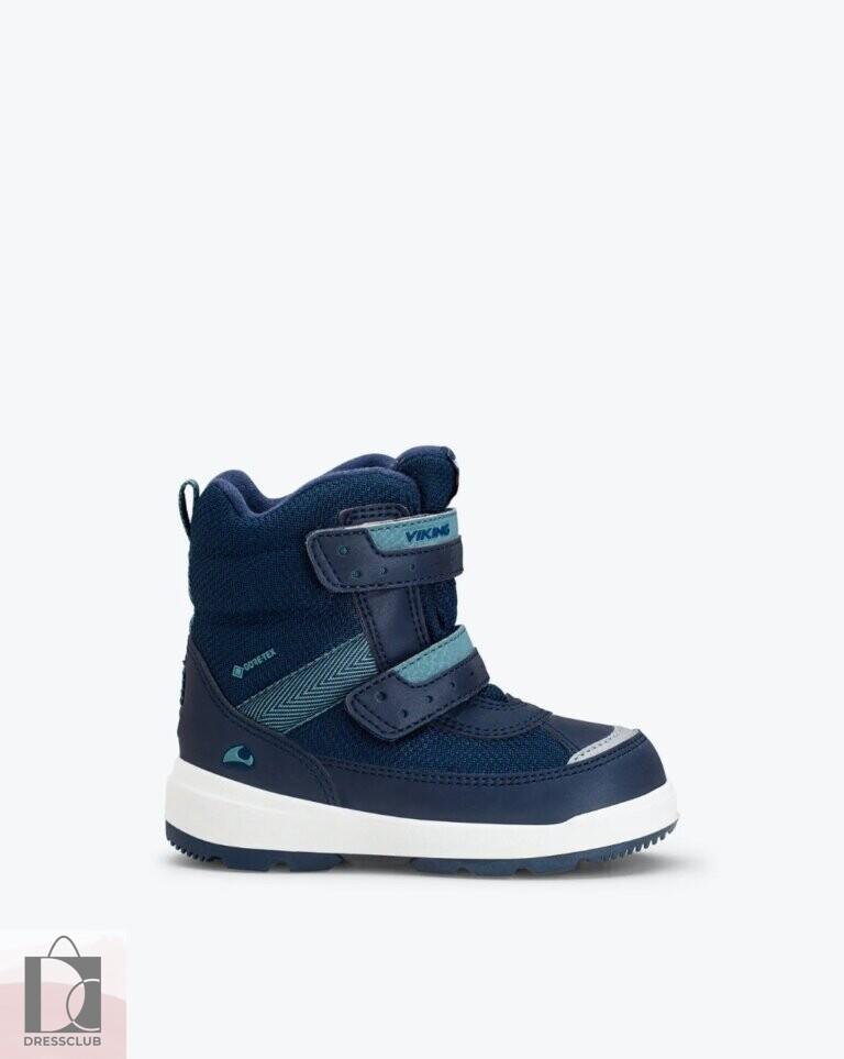 Viking Reflective Winter Boot Play II R GTX Navy/Charcoal (темно-синий) ботинки