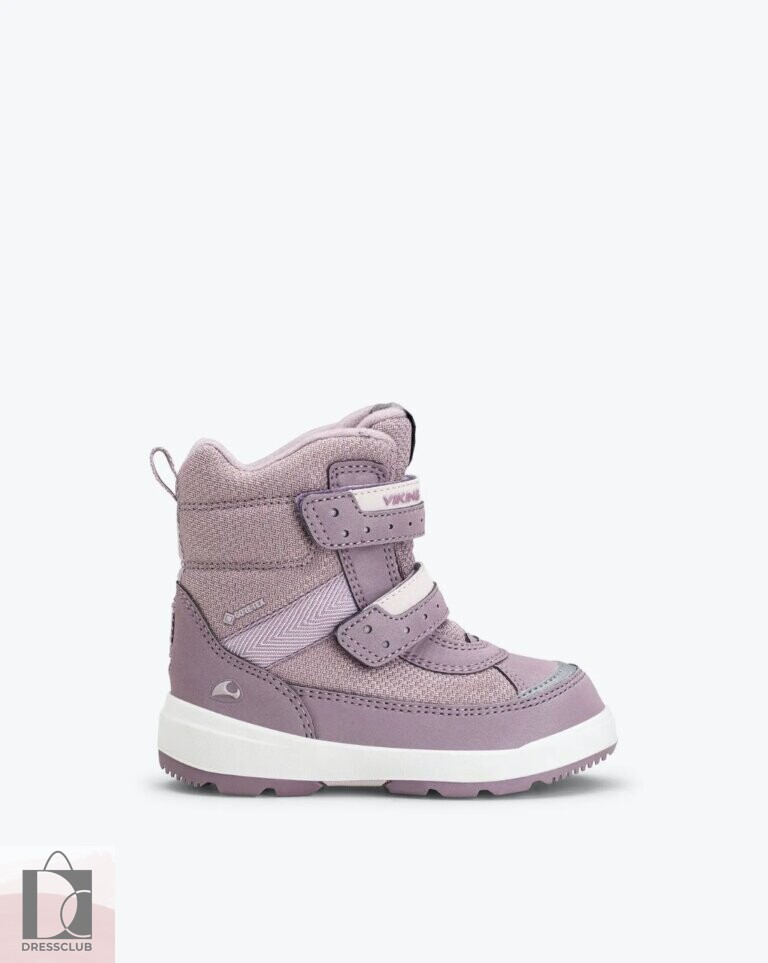 Viking Reflective Winter Boot Play II R GTX Dusty Pink (светло-розовый) ботинки