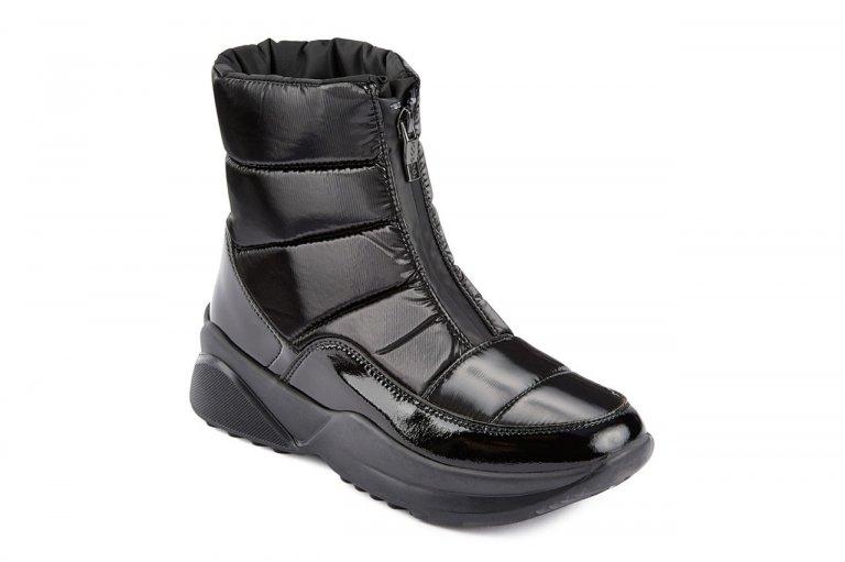 JOG DOG Estella ботинки  1604DR  черный флэш