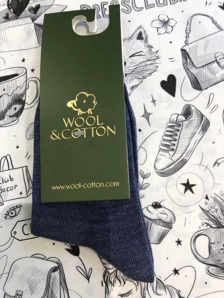 Wool&Cotton носки детские джинс