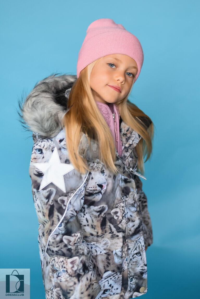 Molo Cathy Fur Snowy Leopards куртка