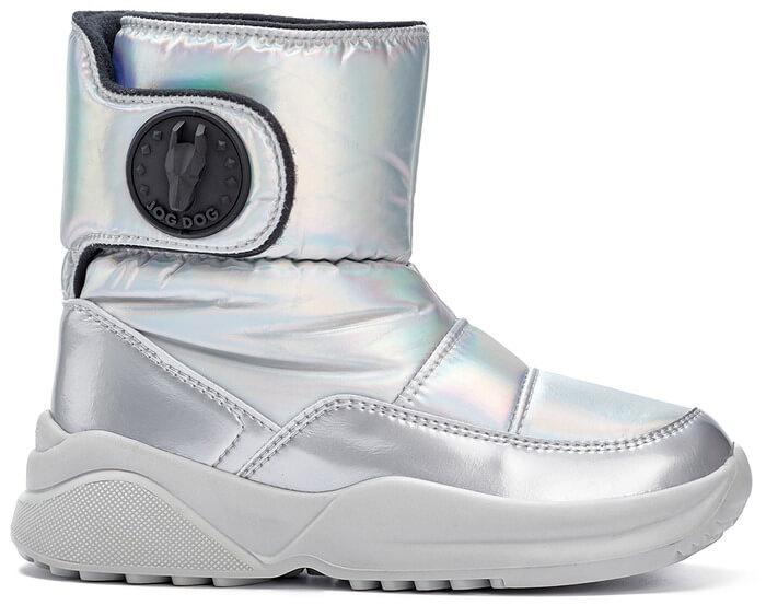 JOG DOG Tundra ботинки 1627R перламутр голограмма